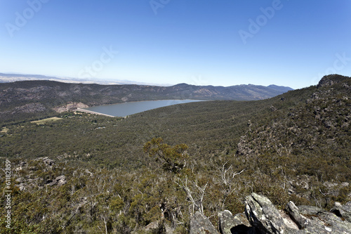 View of The Grampians National Park in Victoria