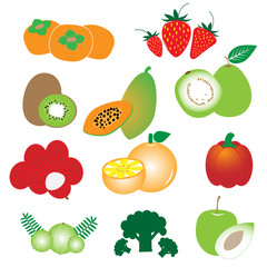 High vitamin C vegetables and fruits
