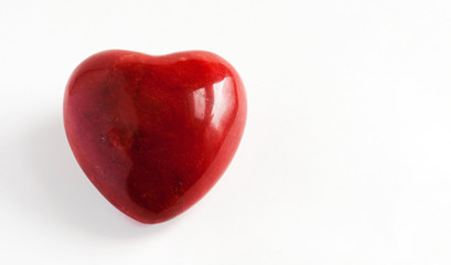 Red Marble Heart