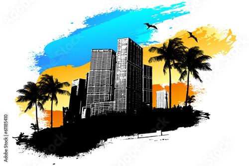 City summer