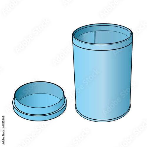 plastic bottle of medicine vector