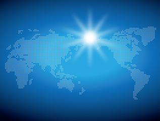 地図素材 世界地図