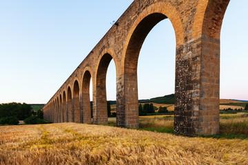 Roman aqueduct in Navarre