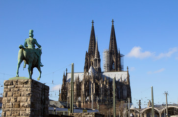 Germany. Cologne. Cathedral.