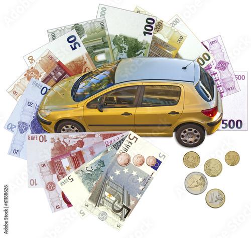 concept financement achat voiture