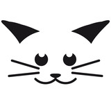 Cool Cat Face Design