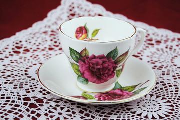 High tea  in  omastijl