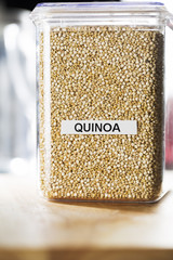 Quinoa in Container
