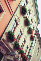 Ancient house in Lviv