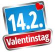 14. Februar Valentinstag