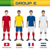 Football 2014 - Groupe E