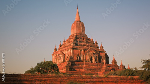 Htilominlo Temple located in Bagan, Myanmar