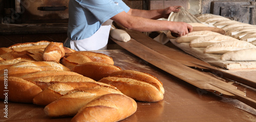 Foto op Canvas Brood Bread