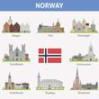 Norway. Symbols of cities - 61194810