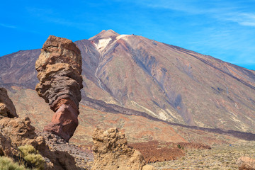 Roques de Garcia. Tenerife, Spain