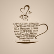 Isolated icon of coffee cup