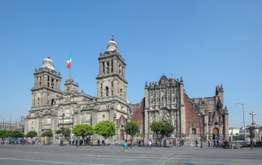 Metropolitan Cathedral of the Assumption of Mary of Mexico City.