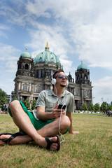 Young man in Berlin