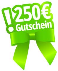 250 € Gutschein
