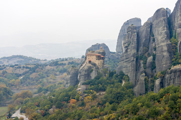 Monareties on Meteora
