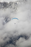Paraglider on Dolomites