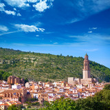 Jerica Castellon village skyline in Alto Palancia of Spain