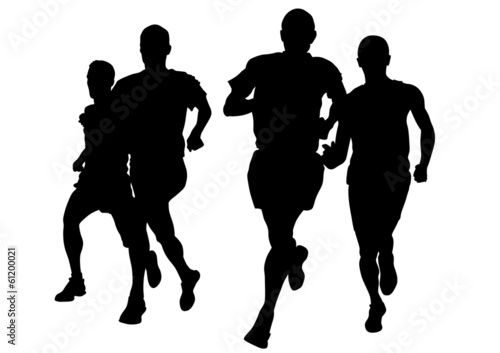 Running men race