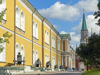 Moscow, Russia . Architecture buildings in the Kremlin