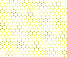 Graphene Sheet on white