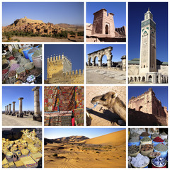 Marocco collage