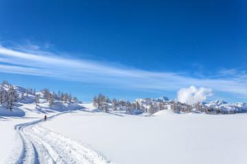 sport invernale in alta quota