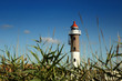 Leinwanddruck Bild - Leuchtturm auf der Insel Poel