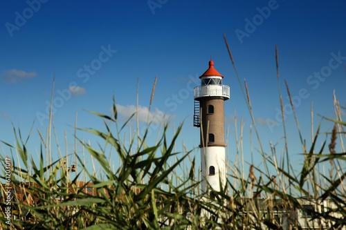 Leinwanddruck Bild Leuchtturm auf der Insel Poel