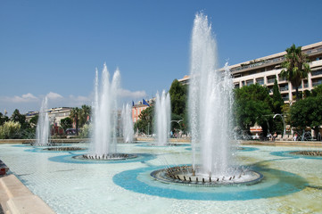 Fontane a Nizza