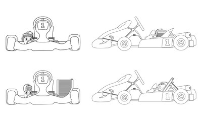 Karting outline