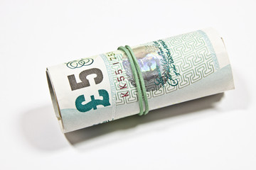 English pounds sterling money