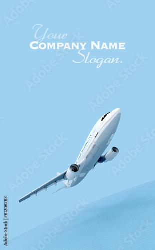 Photo sur Plexiglas Avion à Moteur Flying plane