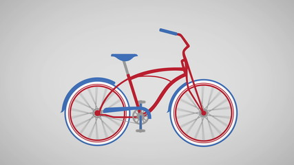 bike morph animation