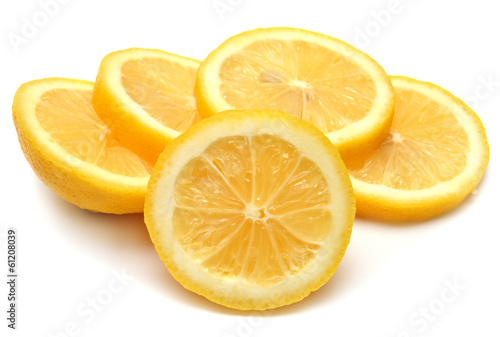 Lemon sliced rings