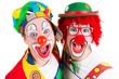 karneval im clownkostüm