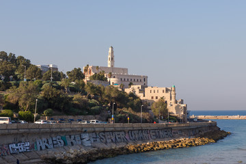 Old Jaffa. Panoramic View .Israel