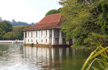 Lake near Temple of Tooth Relic