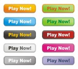 colorful buttons - play now