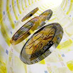 Zweihundert Euro Tunnel