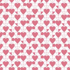 seamless heart's pattern