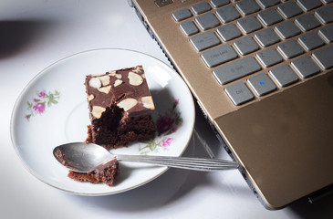 Brownie with working.
