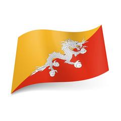 State flag of Bhutan