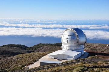 Observatorium auf der Insel La Palma