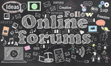 Connecting in Online Forums