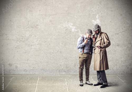 smoking detectives